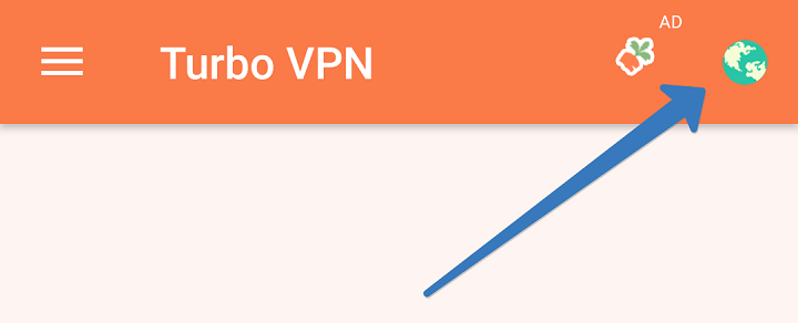 turbo vpn настройка